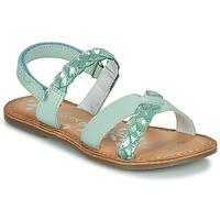 Boty Dívčí Sandály Kickers DIMDAMI Modrá