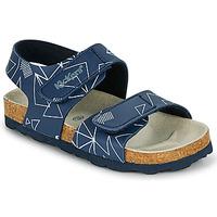 Boty Chlapecké Sandály Kickers SUMMERKRO Tmavě modrá