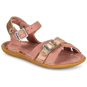 Boty Dívčí Sandály Kickers PEPETE Růžová