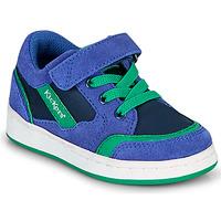 Boty Chlapecké Nízké tenisky Kickers BISCKUIT Modrá