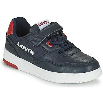 Boty Chlapecké Nízké tenisky Levi's SHOT Tmavě modrá