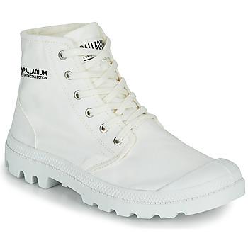 Boty Kotníkové boty Palladium PAMPA HI ORGANIC II Bílá