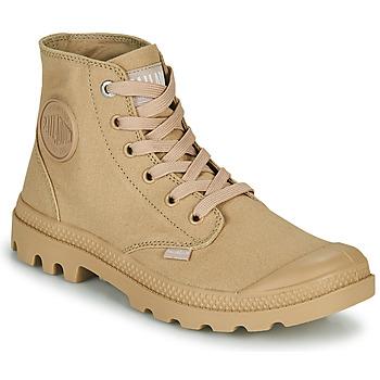 Boty Kotníkové boty Palladium MONO CHROME Béžová