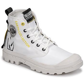 Boty Kotníkové boty Palladium PAMPA RCYCL METRO Bílá