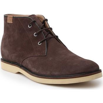 Boty Muži Kotníkové boty Lacoste Sherbrooke HI 14 SRM 7-30SRM0025176 brown