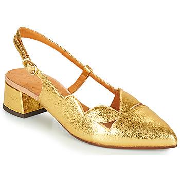 Boty Ženy Lodičky Chie Mihara R-RUNE Zlatá