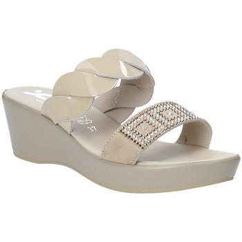 Boty Ženy Dřeváky Susimoda 1440-01 Béžový