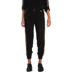 Textil Ženy Teplákové kalhoty Fornarina BE171L96C99700 Černá
