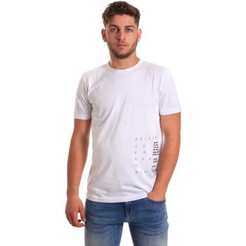 Textil Muži Trička s krátkým rukávem Antony Morato MMKS01223 FA100144 Bílý