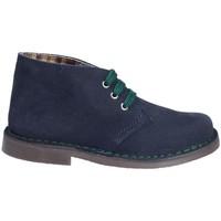 Boty Děti Kotníkové boty Grunland PO0577 Modrý