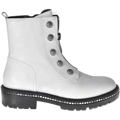 Boty Ženy Kotníkové boty Elvio Zanon I6507G Bílý
