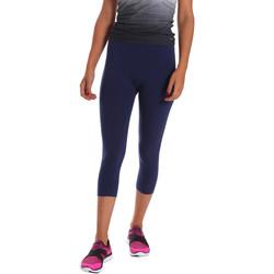 Textil Ženy Legíny Key Up 5LI23 0001 Modrý