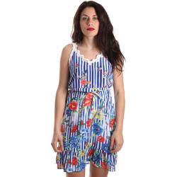 Textil Ženy Krátké šaty Fracomina FR19SP563 Modrý