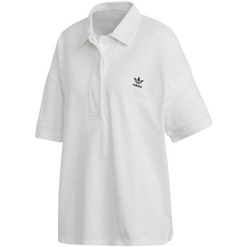 Textil Ženy Polo s krátkými rukávy adidas Originals FM2616 Bílý