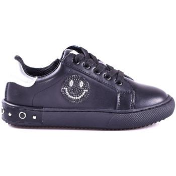 Boty Chlapecké Nízké tenisky Holalà HS0033L0002J Černá