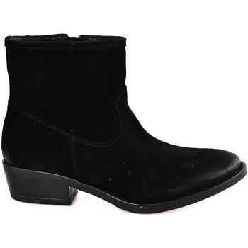 Boty Ženy Polokozačky Mally 5340 Černá