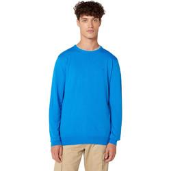 Textil Muži Svetry Wrangler W8A0PDXKL Modrý
