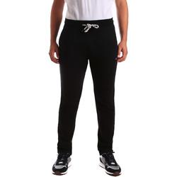 Textil Muži Teplákové kalhoty Key Up 2F36E 0001 Černá