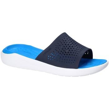 Boty Muži pantofle Crocs 205183 Modrý