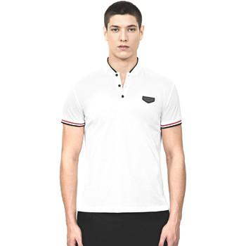 Textil Muži Polo s krátkými rukávy Antony Morato MMKS01467 FA100083 Bílý