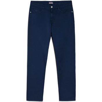 Textil Muži Mrkváče NeroGiardini E070630U Modrý