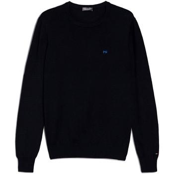 Textil Muži Svetry NeroGiardini E074580U Modrý