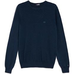 Textil Muži Svetry Nero Giardini E074600U Modrý