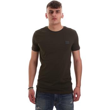 Textil Muži Trička s krátkým rukávem Antony Morato MMKS01417 FA120001 Zelený