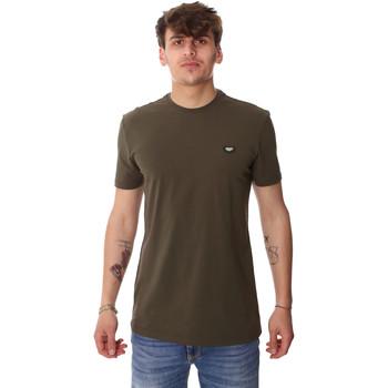 Textil Muži Trička s krátkým rukávem Antony Morato MMKS01737 FA120022 Zelený