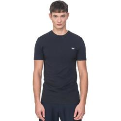 Textil Muži Trička s krátkým rukávem Antony Morato MMKS01737 FA120022 Modrý