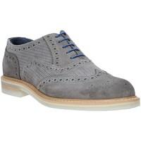 Boty Muži Šněrovací společenská obuv Rogers 9511A Šedá