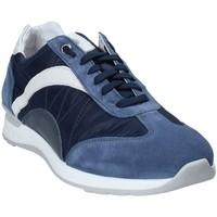 Boty Muži Nízké tenisky Exton 661 Modrý