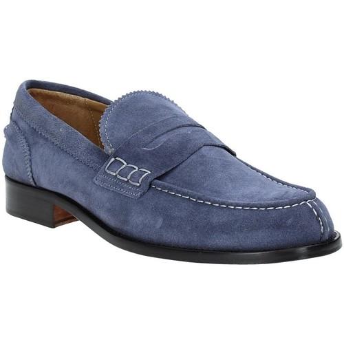 Boty Muži Mokasíny Rogers 652 Modrý