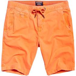 Textil Muži Plavky / Kraťasy Superdry M71011GT Oranžový