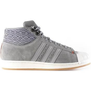 Boty Muži Kotníkové tenisky adidas Originals AQ8160 Šedá