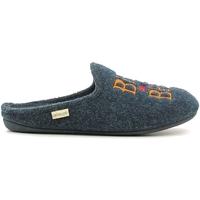 Boty Muži Papuče Grunland CI1073 Modrý
