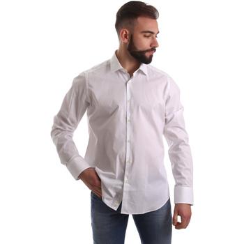 Textil Muži Košile s dlouhymi rukávy Gmf 962250/03 Bílý