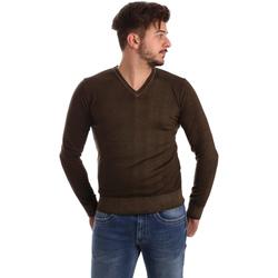Textil Muži Svetry Wool&co WO0002 Hnědý