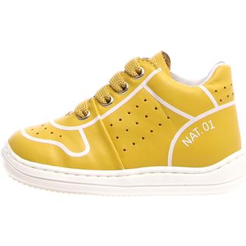 Boty Děti Kotníkové tenisky Naturino 2013460-01-0G04 Žlutá
