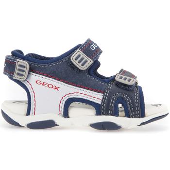 Boty Děti Sportovní sandály Geox B821AA 08522 Modrý