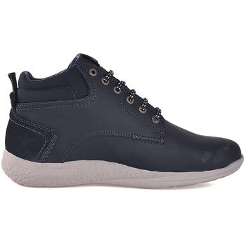 Boty Muži Kotníkové boty Wrangler WM182150 Modrý
