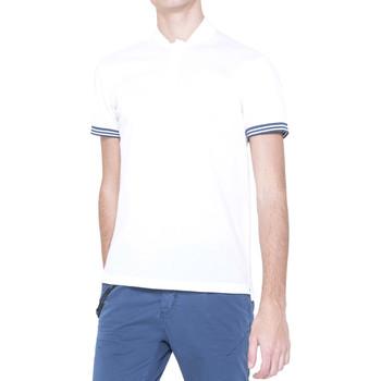 Textil Muži Polo s krátkými rukávy Antony Morato MMKS00999 FA100083 Bílý