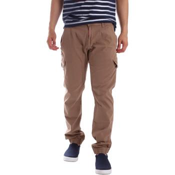Textil Muži Cargo trousers  Gaudi 71BU25013 Béžový