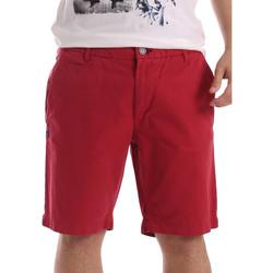 Textil Muži Kraťasy / Bermudy Gaudi 71BU25028 Červené