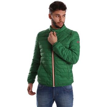 Textil Muži Prošívané bundy Gaudi 71BU35035 Zelený