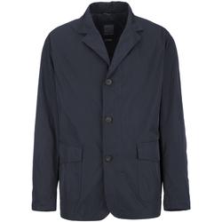 Textil Muži Kabáty Geox M7221A T2317 Modrý
