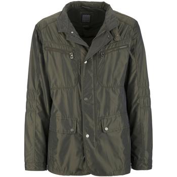 Textil Muži Parky Geox M7221W T0706 Zelený