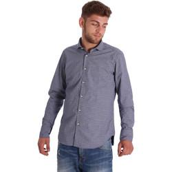 Textil Muži Košile s dlouhymi rukávy Gmf 971192/03 Modrý