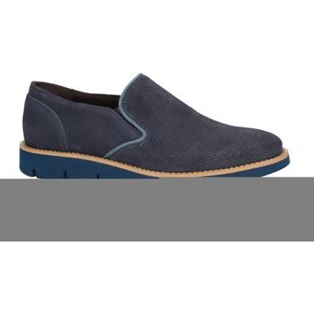 Boty Muži Mokasíny Rogers 1702B Modrý