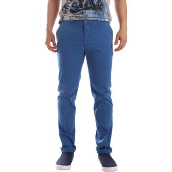 Textil Muži Mrkváče Sei3sei PZVI69 7148 Modrý